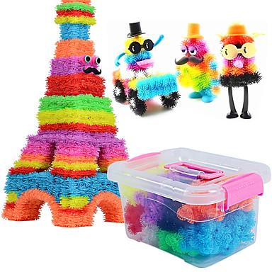 Spielzeug-Autos Bausteine 3D - Puzzle Bälle Bildungsspielsachen Quadratisch Sphäre Augen Herz Heimwerken Puppen Jungen Unisex Spielzeuge