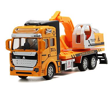 لعبة سيارات سيارات الصب ألعاب شاحنة سيارة الحفريات Excavator ألعاب شاحنة آلات الحفر ألعاب سبيكة معدنية قطع للجنسين هدية
