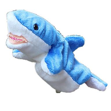Păpuși Păpușă Mână Shark Drăguț Încântător Material Din Fâș Pluș Pentru copii Cadou
