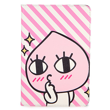 hoesje Voor Apple iPad Mini 4 iPad Mini 3/2/1 iPad 4/3/2 iPad Air 2 iPad Air met standaard Flip Patroon Volledig hoesje Cartoon Hard