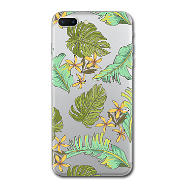Hülle Für Apple Transparent Muster Rückseitenabdeckung Baum Weich TPU für iPhone 7 plus iPhone 7 iPhone 6s Plus iPhone 6 Plus iPhone 6s