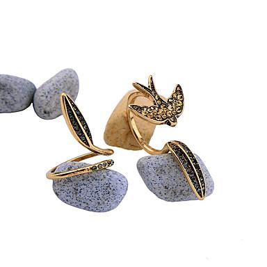 للمرأة خاتم مخصص موضة euramerican في سبيكة مجوهرات من أجل زفاف حزب الذكرى السنوية عيد ميلاد