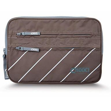 حقيبة أدوات تجميل للسفر منظم أغراض السفر مقاوم للماء مضاعف تخزين السفر إلى آي باد ملابس البوليستر 23*16*2cm