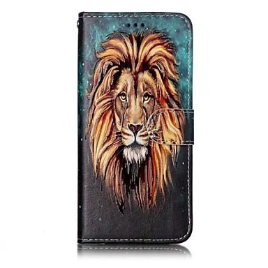 Maska Pentru Samsung Galaxy S8 Plus S8 Portofel Titluar Card Cu Stand Întoarce Model Magnetic Corp Plin Animal Greu PU Piele pentru S8 S8