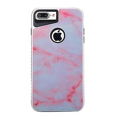 Für iphone 7plus 7 tpu plus pc marmor muster zwei-in-one Telefon Fall 6s plus 6plus 6s 6 se 5s 5