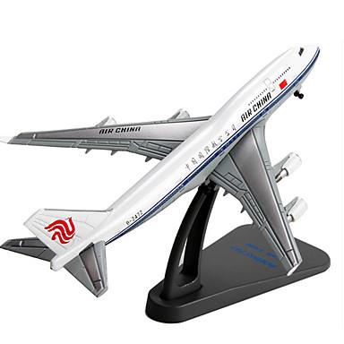 Modellbausätze Aufziehbare Fahrzeuge Flugzeug Spielzeuge Einrichtungsartikel Flugzeug Auto Metalllegierung Stücke Unisex Geschenk