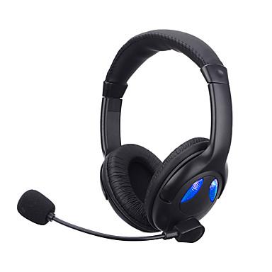 Soyto sy760mv leuchtenden Kopfhörer Stereo Gaming Kopfhörer verdrahtet Headset Auriculares faltbare Kopfhörer audifonos mit Mikrofon für