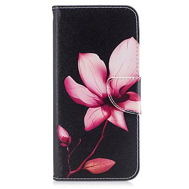 غطاء من أجل Samsung Galaxy S8 Plus S8 محفظة حامل البطاقات مع حامل قلب نموذج مغناطيس كامل الجسم زهور قاسي جلد اصطناعي إلى S8 S8 Plus S7