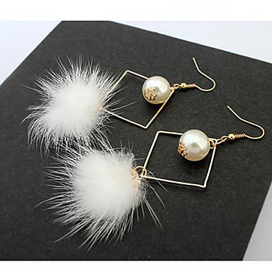 Pentru femei Fete Cercei Stud Cercei Picătură Cercei Rotunzi  Imitație de Perle Personalizat Lux Design Unic Clasic Vintage Boem De Bază