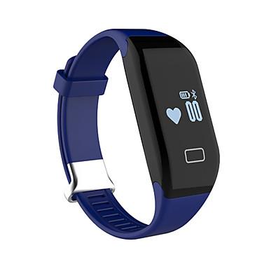 Heren Smart horloge Chinees Digitaal Kalender Hartslagmeter Waterbestendig Afstandsbediening Snelheidsmeter Stappenteller Fitness