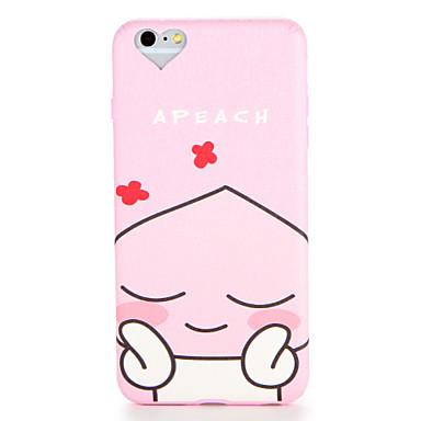 Für Apfel iphone 7 7plus Fallabdeckungsmuster rückseitige Abdeckungsfallkarikatur weiches tpu 6s plus 6 plus 6s 6