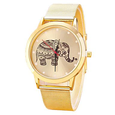 Dames Polshorloge Modieus horloge Vrijetijdshorloge Chinees Kwarts Legering Band Informeel Cool Zwart Zilver