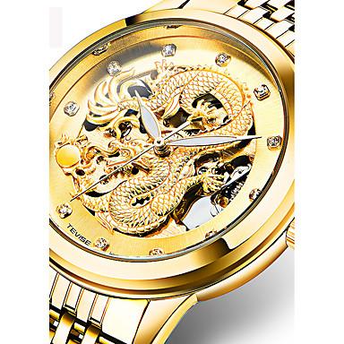Heren Volwassenen Sporthorloge Militair horloge Dress horloge Modieus horloge Polshorloge Armbandhorloge mechanische horloges