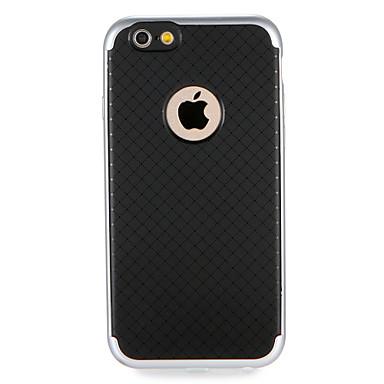 As voor apple iphone 7 7plus solid color geometrisch patroon schokbestendig hard tpu back case hoes voor iphone 6s plus 6 plus 6s 6