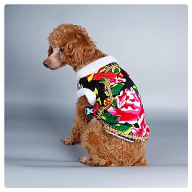Hund Kostüme Mäntel Pullover Weihnachten Hundekleidung Neujahr Natur Schwarz Rot Grün Blau Kostüm Für Haustiere