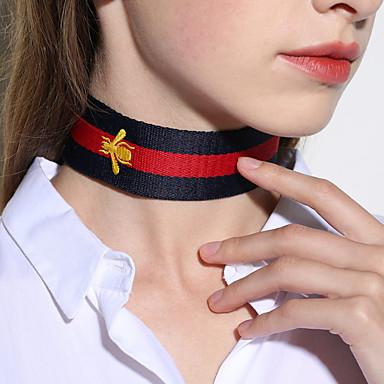 Damen Halsketten Schmuck Geometrische Form Stoff Einzigartiges Design Schmuck Für Party Besondere Anlässe Geburtstag Verlobung Alltag