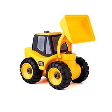 سيارة الحفريات Dozer لعبة الشاحنات ومركبات البناء لعبة سيارات بلاستيك للجنسين للأطفال ألعاب هدية