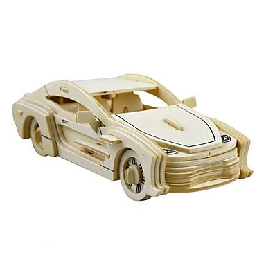 Speelgoedauto's 3D-puzzels Legpuzzel Automatisch Paard Simulatie DHZ Hout Unisex Geschenk