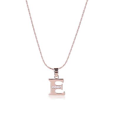 Herrn Damen Alphabet Form Gestalten Personalisiert Luxus Einzigartiges Design Anhänger Stil Sexy Erste Schmuck Multi-Wege Wear
