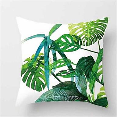 1pcs modă tropicală planta canapea perna pernă de piele pernă acoperă