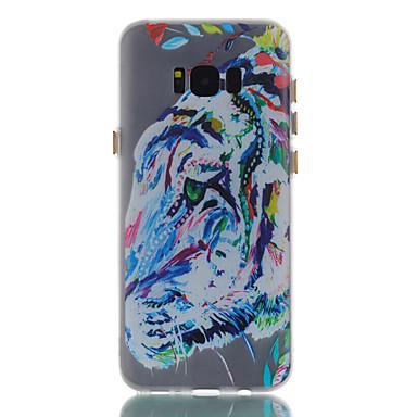 hoesje Voor Samsung Galaxy S8 Plus S8 Glow in the dark Mat Patroon Achterkantje dier Zacht TPU voor S8 S8 Plus S7 edge S7