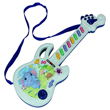 Gitaar Educatief speelgoed Speelgoed muziekinstrument Viool Gitaar Rechthoekig Schattig Unisex