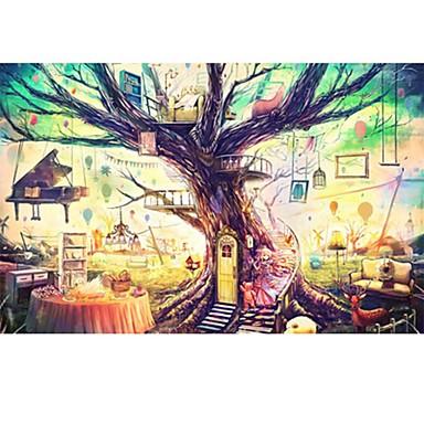 Holzpuzzle Quadratisch Neuheit Hölzern Holz Anime Zeichentrick Unisex Geschenk