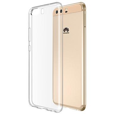 غطاء من أجل Huawei شفاف غطاء خلفي شفاف ناعم TPU إلى P10 Huawei