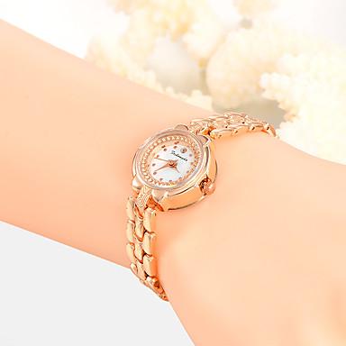 Dames Unieke creatieve horloge Polshorloge Modieus horloge Vrijetijdshorloge Kwarts Legering Band Amulet Luxe Creatief Informeel Elegant