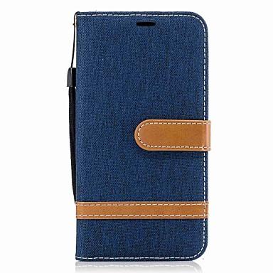 Hülle Für LG K8 LG LG K10 LG K7 Kreditkartenfächer Geldbeutel mit Halterung Flipbare Hülle Magnetisch Ganzkörper-Gehäuse Volltonfarbe Hart