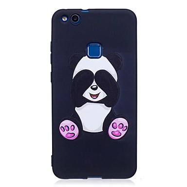 hoesje Voor Huawei P9 Lite Huawei Patroon Achterkant dier Zacht TPU voor P10 Lite P10 Huawei P9 Lite P8 Lite (2017) Huawei