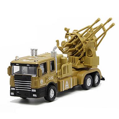 Jucării pentru mașini Jucarii Model Mașină Vehicul Militar Jucarii Muzică și lumină Altele Rezervor Car de Război Aliaj Metalic Bucăți