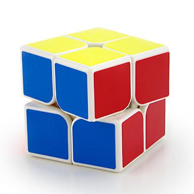 مكعب روبيك MoYu 2*2*2 السلس مكعب سرعة مكعبات سحرية مخفف الضغط ألعاب تربوية لغز مكعب ملصقات مصقولة التعليم هدية