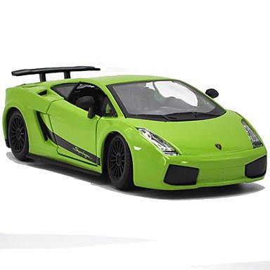 Speelgoedauto's Speeltjes Modelauto Motorfietsen Speeltjes Simulatie Muziek en licht Rechthoekig Metaallegering Rauta Stuks Niet