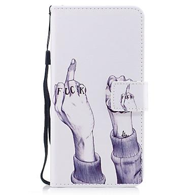 Pentru Apple iPhone 7 7 plus 6s 6 plus se 5s 5 caz acoperă model de mână pictat pu piele material carte stent portofel telefon caz
