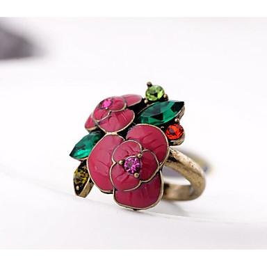 Dames Ring Aanbiddelijk Eenvoudige Stijl Klassiek Legering Sieraden Voor Bruiloft Feest Verjaardag