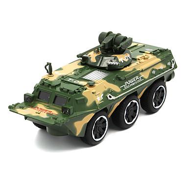 Legervoertuig Tank Speelgoedtrucks & Constructievoertuigen Speelgoedauto's 01:32 Simulatie Metaallegering Unisex Kinderen Speeltjes