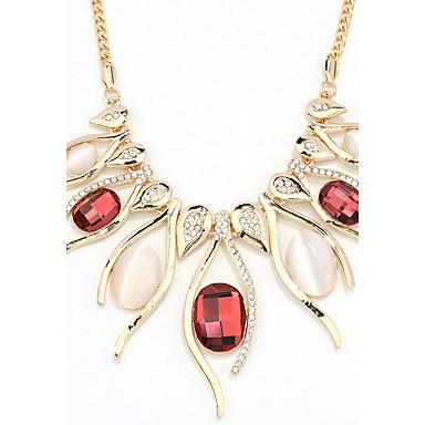 Pentru femei Inimă Cristal Aliaj Coliere - Cristal Aliaj Design Unic Euramerican Modă Altele Inimă Coliere Pentru Petrecere Alte Serată