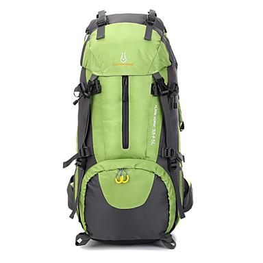 50L L sırt çantası Kamp & Yürüyüş Su Geçirmez Giyilebilir Naylon