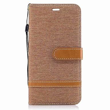 Für huawei p10 lite p10 plus fallabdeckung kartehalter wallet mit stand case textil für huawei p10 p9 lite p8 lite (2017) mate 9 ehre 6x