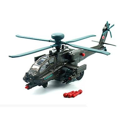 KDW Μοντέλα και κιτ δόμησης Vehicul cu Tragere Elicopter Jucarii Aeronavă Mașină Elicopter Aliaj Metalic Bucăți Unisex Cadou