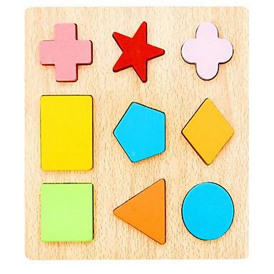 Educatieve geheugenkaartjes Steekpuzzels Voor cadeau Bouwblokken Vierkant 1-3 jaar oud Speeltjes
