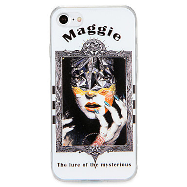 Voor apple iphone 7 7plus case cover patroon achterkant hoesje sexy dame harde pc 6s plus 6 plus 6s 6