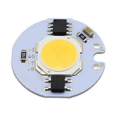 3w cob led chip 280lm для чипа пятновых ламп на лампе накаливания на лампе с подсветкой теплого / холодного белого цвета (1 шт)