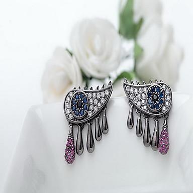 Dames Oorknopjes Sieraden Uniek ontwerp Modieus Euramerican Kostuum juwelen Zirkonia Legering Sieraden Sieraden Voor Bruiloft Verjaardag