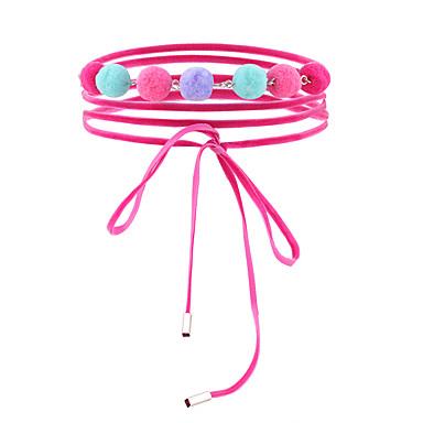 Damen Halsketten - Einzigartiges Design, Euramerican Rosa Modische Halsketten Für Hochzeit, Party, Besondere Anlässe