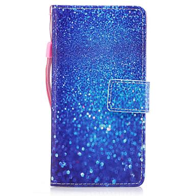 لهواوي p8 لايت (2017) p10 حالة تغطية الرخام الرمال الزرقاء نمط رسمت بو الجلد المواد بطاقة الدعامات المحفظة حالة الهاتف p10 زائد p10 لايت