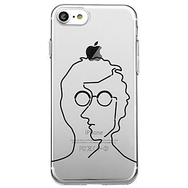 hoesje Voor Apple Patroon Achterkantje Lijnen / golven Zacht TPU voor iPhone 7 Plus iPhone 7 iPhone 6s Plus iPhone 6 Plus iPhone 6s