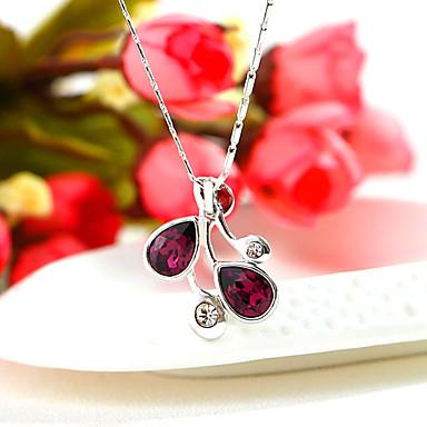 Dames Hangertjes ketting Sieraden Rechthoekige vorm Sieraden Kristal Legering Uniek ontwerp Modieus Euramerican Sieraden Voor Feest