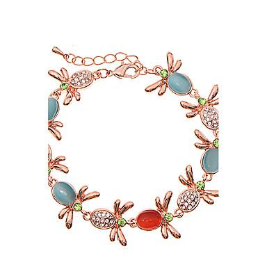 Dames Armbanden met ketting en sluiting Sieraden Vintage Natuur Modieus Met de Hand Gemaakt Kristal Legering Stervorm Sieraden Voor
